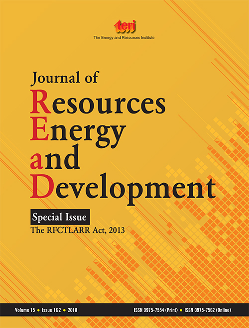 Journal of Resources, Energy, and Development