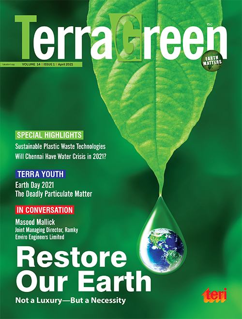 TerraGreen (a monthly magazine on environmental issues)