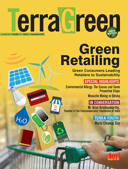 TerraGreen (TERI's flagship monthly magazine on Environmental issues)