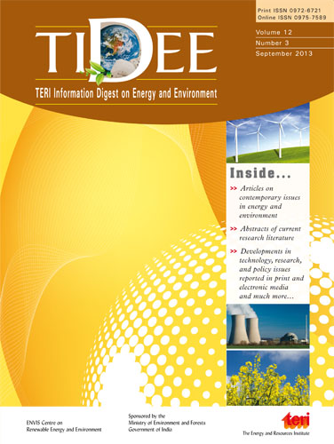 Teri Information Digest on Energy and Environment(TIDEE)