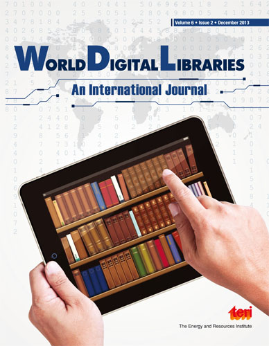 World Digital Libraries: An International Journal (Print)