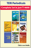 TERI Periodicals (Complete set in just Rs. 11000)